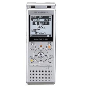 オリンパス ICレコーダー V-862 SLV シルバー 容量:4GB