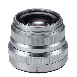 フジフイルム 交換用レンズ フジフイルムXマウント XF35mmF2 R WR S シルバー