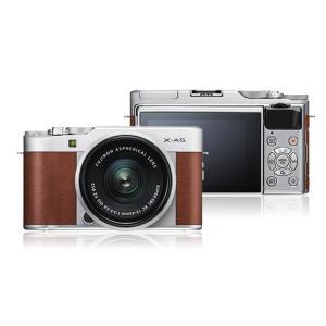 フジフイルム 小型一眼カメラ 1本レンズキット(標準ズーム) X-A5LK-BW ブラウン