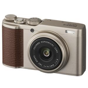 フジフイルム 高画質タイプデジタルカメラ 4K XF10-G シャンパンゴールド