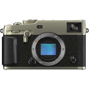 フジフイルム 小型一眼カメラ ボディ 4K X-Pro3-DS DRシルバー