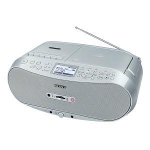 ソニー CDラジオカセットメモリーレコーダー CFD-RS501 シルバー