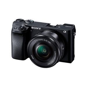 (アウトレット) ソニー 小型一眼カメラ 1本レンズキット(電動ズーム) 4K α(アルファ) α6300 ILCE-6300L B ブラック|ksdenki