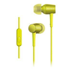 (アウトレット) ソニー インナーイヤー高音質タイプ MDR-EX750AP YM ライムイエロー|ksdenki