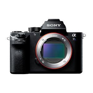 ソニー 小型一眼カメラ ボディ 4K α7S II ILCE...