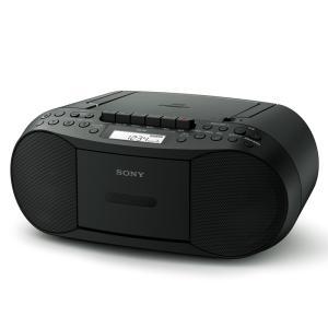 ソニー コンパクトCDラジカセ CFD-S70 B ブラック|ksdenki