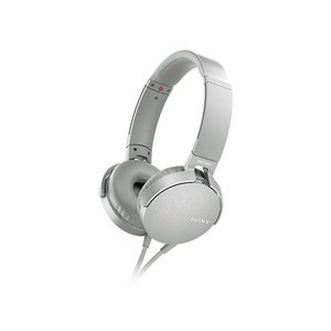 ソニー オーバーヘッド重低音タイプ MDR-XB550AP W グレイッシュホワイト