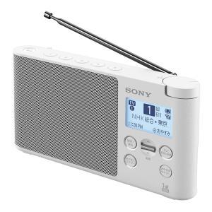 ソニー ワンセグTV音声受信ラジオ XDR-56TV W ホワイト|ksdenki