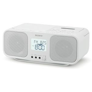 ソニー CDラジカセ CFD-S401 W ホワイト|ksdenki