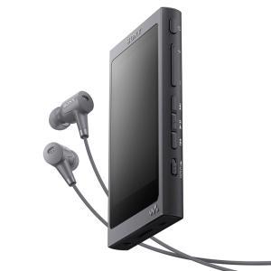(アウトレット) ソニー メモリープレーヤー NW-A45HN B グレイッシュブラック 容量:16GB|ksdenki
