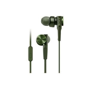 ソニー スマートフォン専用ヘッドホン MDR-XB75AP G グリーン
