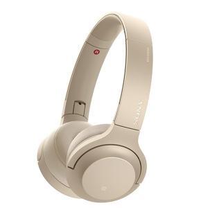 (アウトレット) ソニー Bluetoothヘッドホン WH-H800 N ペールゴールド|ksdenki
