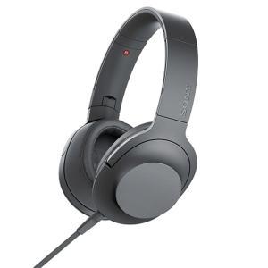 ソニー ポータブルヘッドホン高音質タイプ MDR-H600A B グレイッシュブラック|ケーズデンキ PayPayモール店