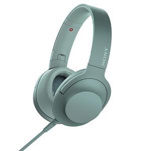 ソニー ポータブルヘッドホン高音質タイプ MDR-H600A G ホライズングリーン