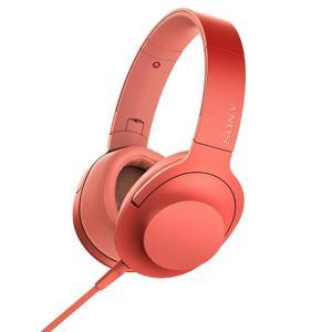 ソニー ポータブルヘッドホン高音質タイプ MDR-H600A R トワイライトレッド