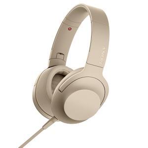 ソニー ポータブルヘッドホン高音質タイプ MDR-H600A N ペールゴールド