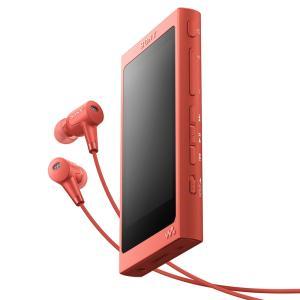 ソニー メモリープレーヤー NW-A45HN R トワイライトレッド  容量:16GB|ksdenki