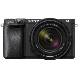 ソニー 小型一眼カメラ 1本レンズキット(高倍率ズーム) 4K α6400 ILCE-6400M B...