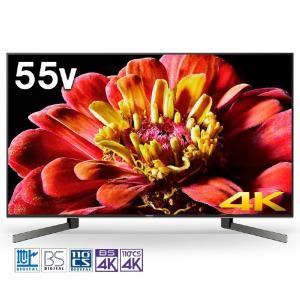 (長期無料保証/標準設置無料) ソニー 55V型 BS/CS 4Kチューナー内蔵液晶テレビ BRAVIA(ブラビア) (Android tv) KJ-55X9500G|ksdenki