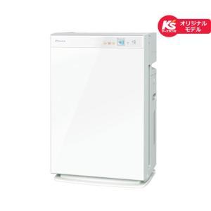 ダイキン工業 空気清浄機 加湿機能付 MCK70UKS-W ホワイト 適応畳数:主に31畳まで|ksdenki