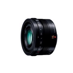 パナソニック 交換用レンズ マイクロフォーサーズ H-X015-K ブラック|ksdenki