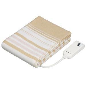 (アウトレット) パナソニック 電気しき毛布(シングルSサイズ) DB-U12T-C ベージュ|ksdenki