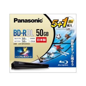 パナソニック 録画用BD−R DL LM-BR50W6S|ksdenki