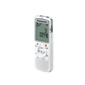 パナソニック ICレコーダー RR-QR220-W ホワイト 容量:2GB ksdenki