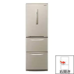 【長期無料保証/標準設置無料】パナソニック 冷蔵庫 NR-C37FM-N シルキーゴールド 右開き 内容量:365リットル|ksdenki