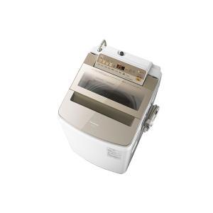 【長期無料保証/標準設置無料】パナソニック 全自動洗濯機 NA-FA100H5-N シャンパン 洗濯容量:10.0kg|ksdenki