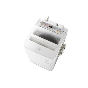 【長期無料保証/標準設置無料】パナソニック 洗濯機 NA-FA80H5-W ホワイト 洗濯容量:8.0kg|ksdenki