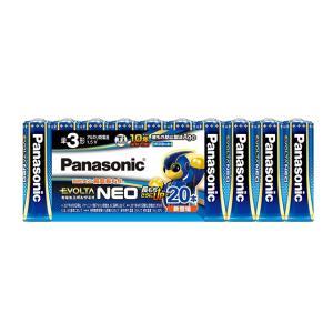 パナソニック エボルタNEO 単3電池20本 シュリンクパック LR6NJ/20SW|ksdenki