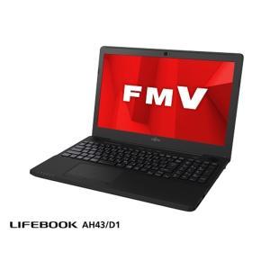 富士通 LIFEBOOK AH43/D1 FMVA43D1BP シャイニーブラック|ksdenki