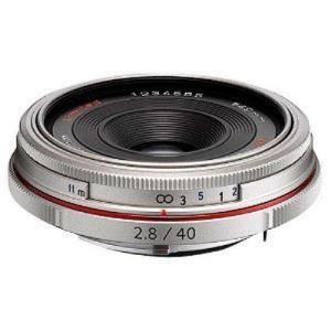 ペンタックス 交換用レンズ ペンタックスKマウント DA40mmF2.8 Limited(SL) シルバー ksdenki
