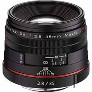 ペンタックス 交換用レンズ ペンタックスKマウント DA35mmF2.8 Macro Limited(BK) ブラック ksdenki