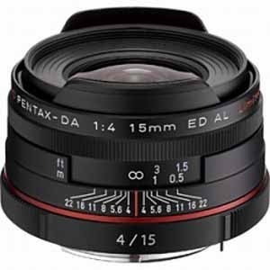 ペンタックス 交換用レンズ ペンタックスKマウント DA15mmF4ED AL Limited(BK) ブラック ksdenki