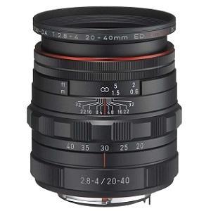 ペンタックス 交換用レンズ ペンタックスKマウント DA20-40mmF2.8-4ED Limited DC WR(BK) (防滴) ブラック ksdenki