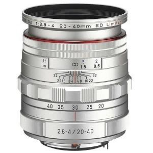 ペンタックス 交換用レンズ ペンタックスKマウント DA20-40mmF2.8-4ED Limited DC WR(SL) (防滴) シルバー ksdenki
