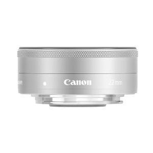 キヤノン 交換用レンズ キヤノンEF−Mマウント EF-M22mm F2 STM シルバー シルバー|ksdenki