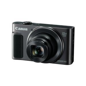 キヤノン 高倍率コンパクトカメラ PowerShot(パワーショット) PSSX620HS(BK) ...