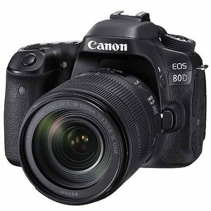 キヤノン 一眼レフカメラ 1本レンズキット(高倍率ズーム) EOS(イオス) EOS80D-1813...