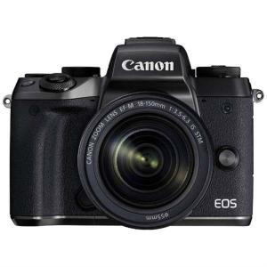 キヤノン 小型一眼カメラ 1本レンズキット(高倍率ズーム) EOS(イオス) EOSM5-18150...
