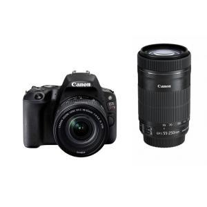 【オススメ商品!】 (アウトレット) キヤノン 一眼レフカメラ 2本レンズキット(標準ズーム+望遠ズーム) EOS(イオス) KISSX9-WKIT(BK) ブラック|ksdenki