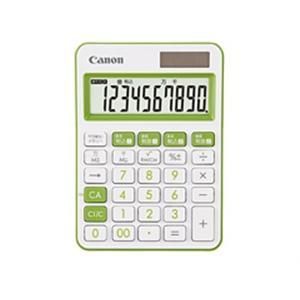 キヤノン 電卓 LS-105WUC-GR SOB グリーン|ksdenki