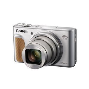 キヤノン 高倍率コンパクトカメラ 4K PowerShot SX740HS  PSSX740HS シルバー|ksdenki