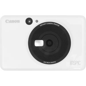キヤノン インスタントカメラプリンター iNSPiC CV-123-WH ホワイト