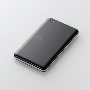エレコム 外付けSSD/USB3.1 ESD-ED0120GBK ブラック SSD:120GB