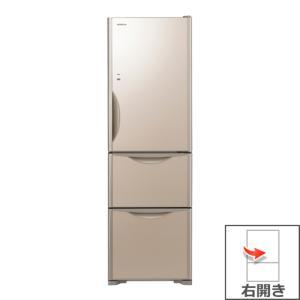 【長期無料保証/標準設置無料】日立 冷蔵庫 R-S3200HV(XN) クリスタルシャンパン 右開き 内容量:315リットル|ksdenki