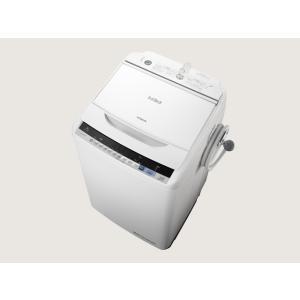 【長期無料保証/標準設置無料】日立 全自動洗濯機 BW-V80B(W) ホワイト 洗濯容量:8.0kg|ksdenki