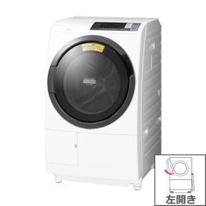【長期無料保証/標準設置無料】日立 ドラム式全自動洗濯乾燥機 BD-SG100BL(W) ホワイト 左開き 洗濯/乾燥容量:10.0/6.0kg|ksdenki